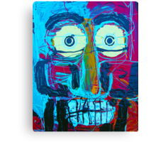 2 Guys Face Canvas Print
