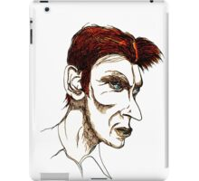 David Bowie Caricature iPad Case/Skin
