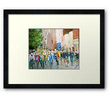Tour of Britain, Cumbria Framed Print