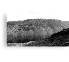 The Screes, Wast Water. Lake District National Park. Canvas Print