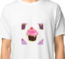 Multi Pink and purple cupcakes Classic T-Shirt