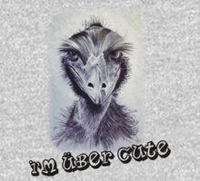 """I'm Über Cute"" kids clothing. Kids Tee"