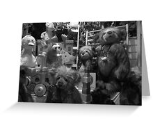 The Toy Shop Window Greeting Card