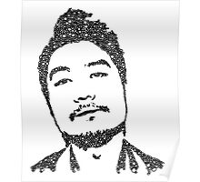 Dumbfoundead Bubble Portrait Poster