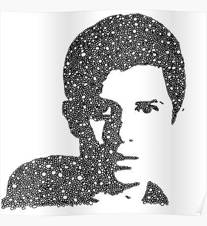 George Watsky Bubble Portrait Poster