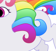 Cute Baby Rainbow Unicorn Sticker