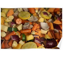 Roasted Veggies  Poster