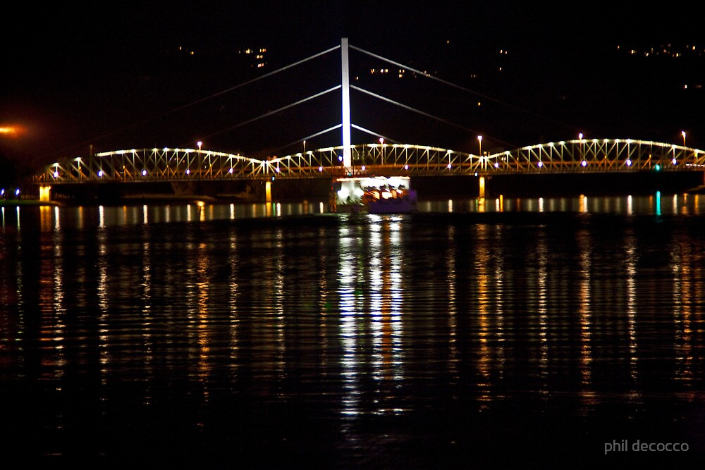 Eisenbahnbrucke Railroad Bridge by phil decocco