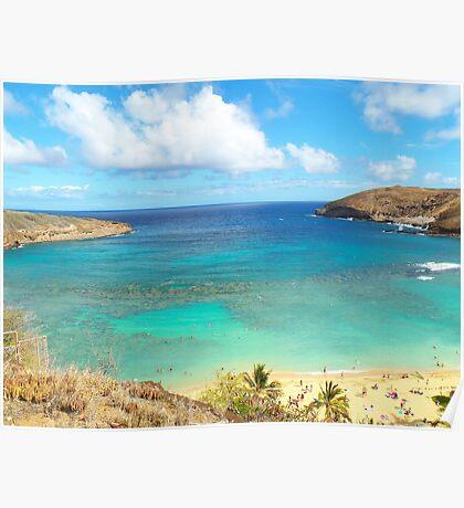 Hanauma Bay Hawaii Poster
