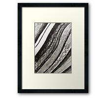 Ink & Charcoal #1 Framed Print