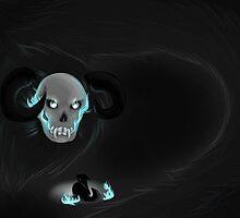 Demon in the dark by Valkinerie