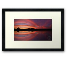 ©HCS Red Brige Framed Print