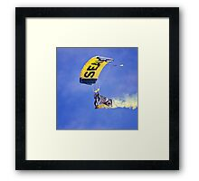 U.S. Navy Parachute Team, the Leap Frogs .2 Framed Print