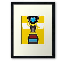 CL4P-TP Face Framed Print