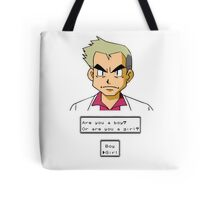 Pokemon - Professor Oak Tote Bag