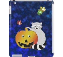 Halloween Raccoon iPad Case/Skin