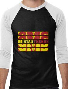 Stagthenas Zip Up Men's Baseball ¾ T-Shirt