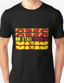 Stagthenas Zip Up Unisex T-Shirt