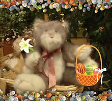 Grey Kitty Wants To Be The Easter Bunny by Jane Neill-Hancock