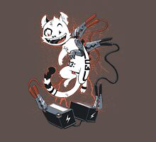 Cyber Cat Charges Up T-Shirt