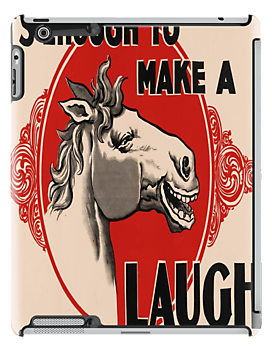 It's Enough To Make A Horse Laugh by taiche