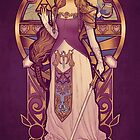 Hylian Nouveau - Print by MeganLara