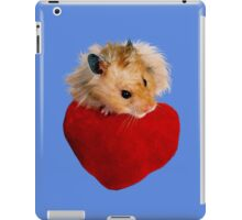 Hamster with Heart iPad Case/Skin