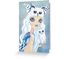 Owl Duchess Greeting Card