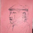 Picasso sketch -(130313)- Black biro pen/A4 sketchpad by paulramnora