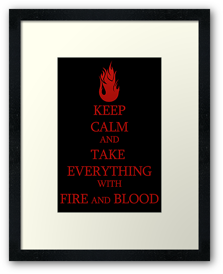 FIRE and BLOOD by GeorgioGe