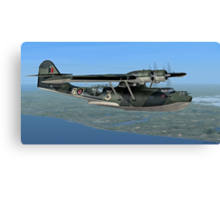 Norwegian Consolidated PBY Catalina Mk.I Canvas Print