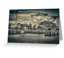 Port Adelaide Old Tug Boat Greeting Card