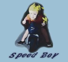 """Speed Boy"" Kids Tee"