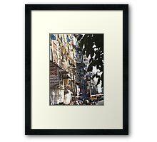 Yangon Streetscape Framed Print