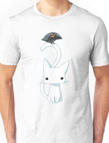 Cat and Raven Unisex T-Shirt