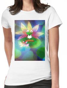 YOGAFROG SHIRT Womens Fitted T-Shirt