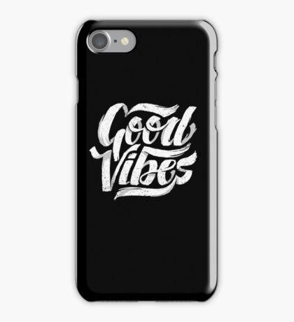Good Vibes - Feel Good T-Shirt Design iPhone Case/Skin