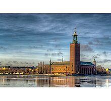 Stockholm Town Hall Photographic Print