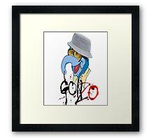 Dr. Gonzo Framed Print