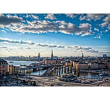 Stockholm Tower Photographic Print