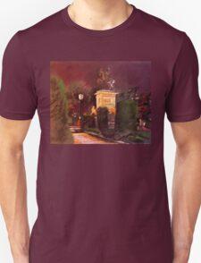 Palace gardens, Madrid T-Shirt