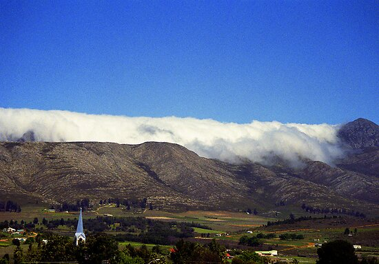 Rolling Clouds near Uniondale, South Africa by Bev Pascoe