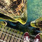 Lake Zurich Under My Feet by jazzwall
