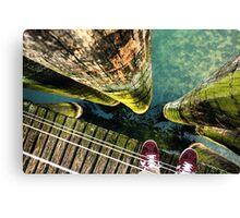 Lake Zurich Under My Feet Canvas Print