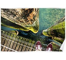 Lake Zurich Under My Feet Poster