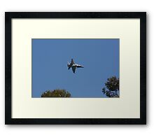 2013 Clipsal 500 Day 3 F/A-18 Fly By Framed Print