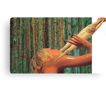 M Blackwell - Nothing Refreshes Like The Leg of Christ Canvas Print