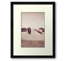The Levitator - Surreal Photography Framed Print