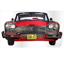 """""""Christine"""",  Plymouth Fury  Poster"""