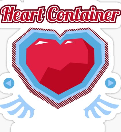 The Miraculous Heart Container Sticker